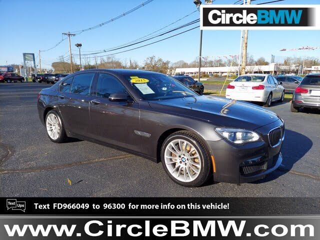 2015 BMW 7 Series 750i xDrive AWD
