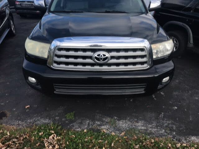 2010 Toyota Sequoia Limited 4WD FFV