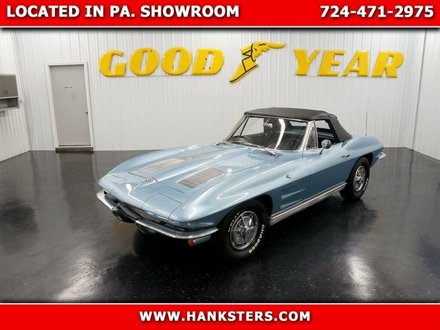 1963 Chevrolet Corvette Sting Ray Convertible RWD