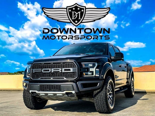2017 Ford F-150 SVT Raptor SuperCrew 4WD