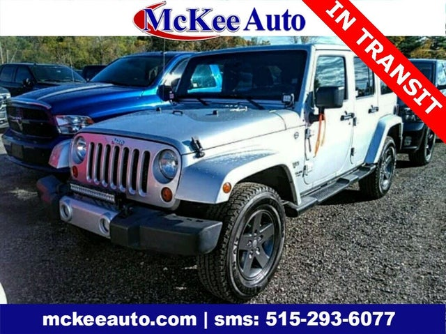 2011 Jeep Wrangler Unlimited 70th Anniversary 4WD