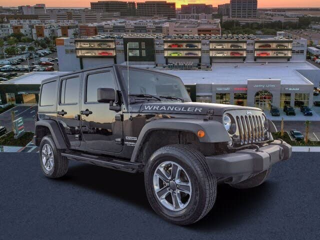 2017 Jeep Wrangler Unlimited Sport S 4WD