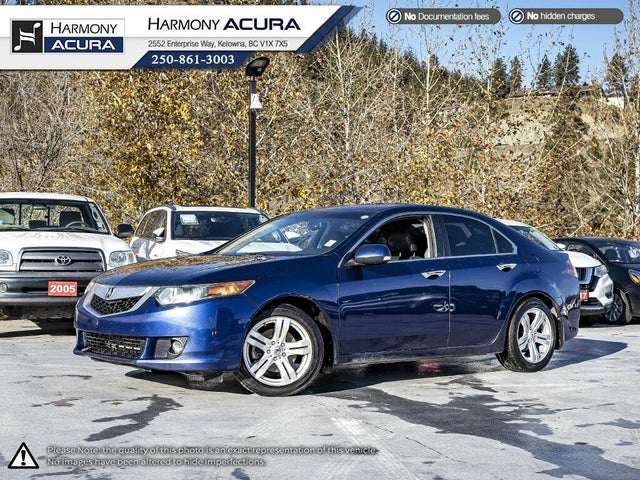 2009 Acura TSX Sedan FWD with Premium Package