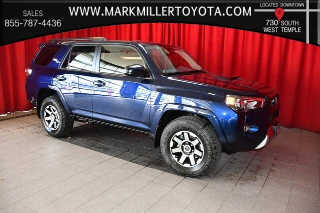 2021 toyota 4runner trd off-road 4wd for sale in provo, ut