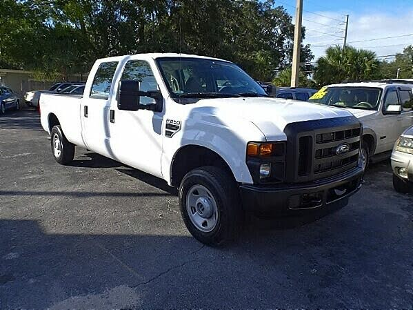 2008 Ford F-250 Super Duty XLT Crew Cab 4WD