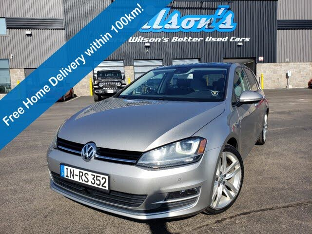 2016 Volkswagen Golf 1.8T Highline 4-Door FWD