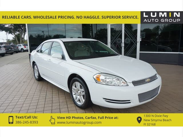 Used 2016 Chevrolet Impala Limited Lt Fwd For Sale Online Cargurus