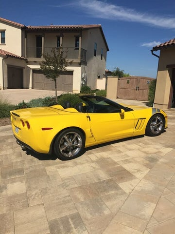 2011 Chevrolet Corvette Z16 Grand Sport 4LT Convertible RWD