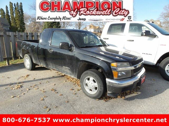 2004 Chevrolet Colorado ZQ8 LS Extended Cab RWD
