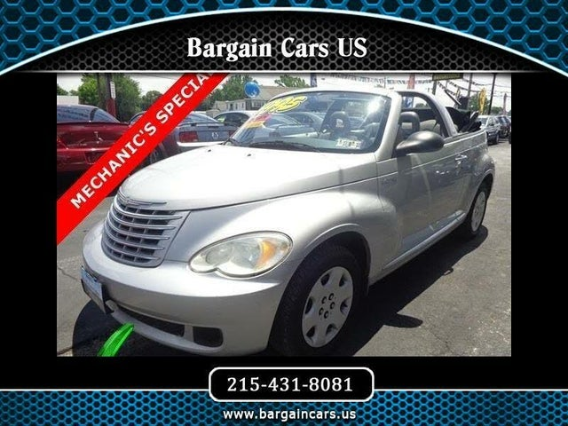 2006 Chrysler PT Cruiser Convertible FWD