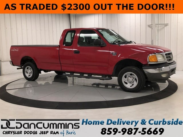 2004 Ford F-150 Heritage 4 Dr XL 4WD Extended Cab SB