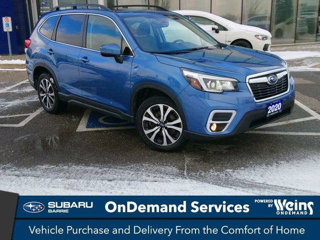 2020 Subaru Forester 2.5i Limited AWD with Eyesight Package