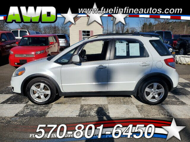 2012 Suzuki SX4 Crossover AWD with Technology Package