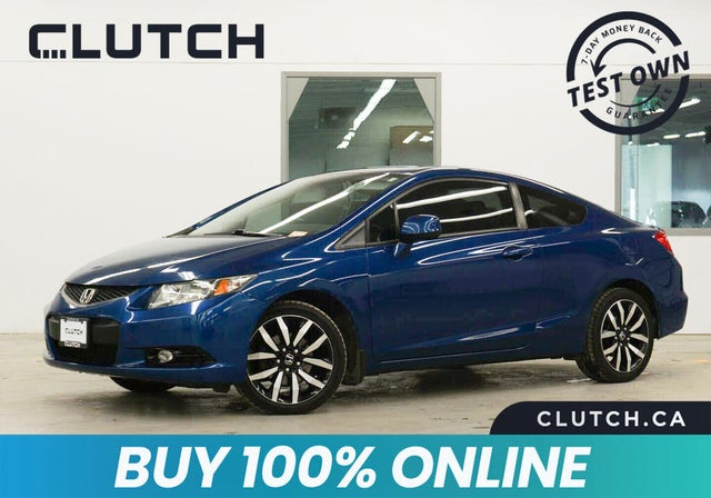 2013 Honda Civic Coupe EX-L with Nav