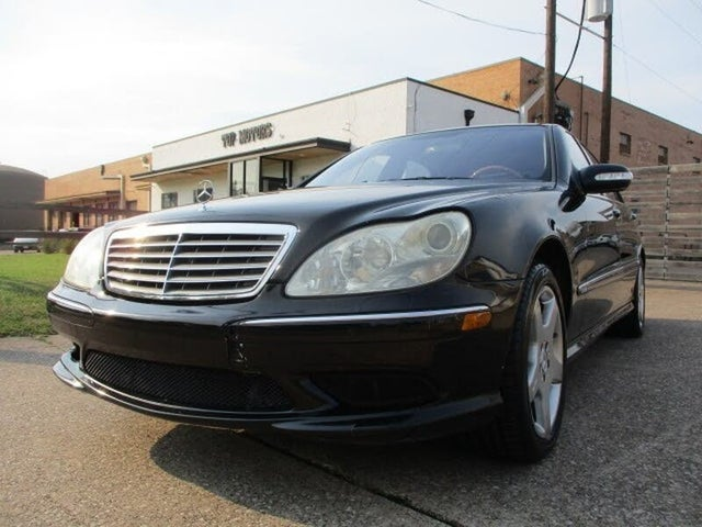 Used 2003 Mercedes Benz S Class S 600 Turbo For Sale Right Now Cargurus
