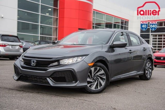 2018 Honda Civic Hatchback LX FWD with Honda Sensing