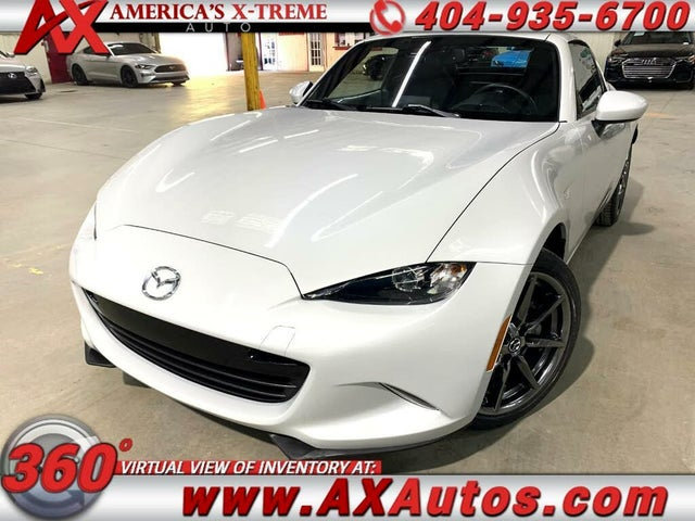 2018 Mazda MX-5 Miata RF Grand Touring RWD