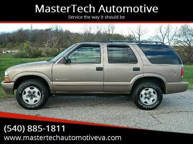 2004 Chevrolet Blazer LS 4-Door 4WD