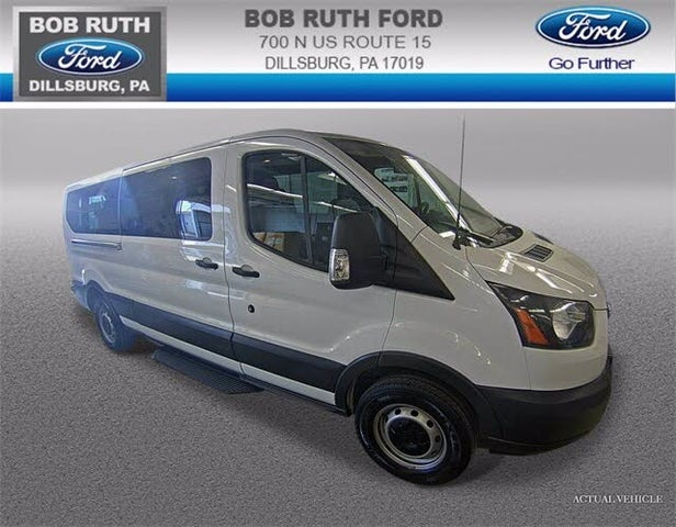 2018 Ford Transit Passenger 350 XL Low Roof LWB RWD with Sliding Passenger-Side Door