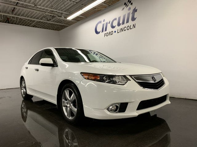 2013 Acura TSX Sedan FWD with Premium Package