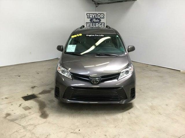 2018 Toyota Sienna L 7-Passenger FWD
