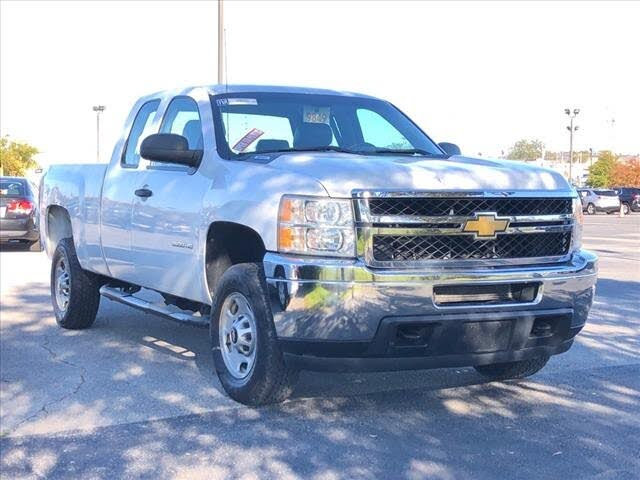 2012 Chevrolet Silverado 2500HD Work Truck Extended Cab 4WD