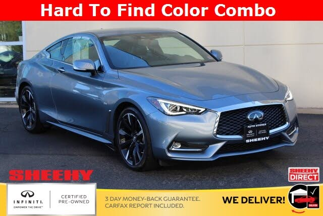 2019 INFINITI Q60 3.0t Luxe Coupe AWD