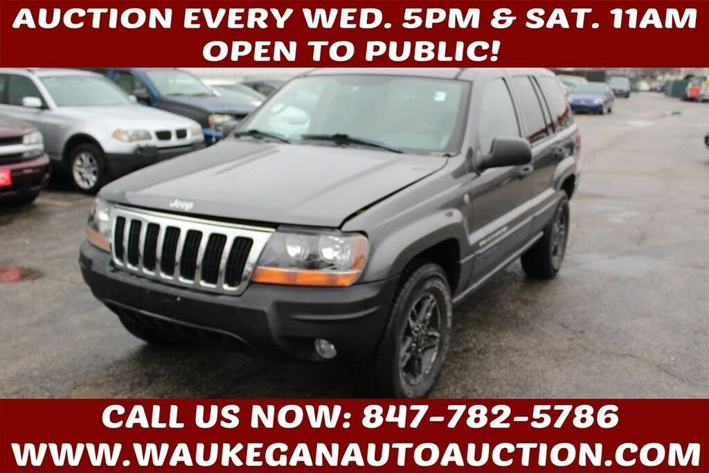 Used 2004 Jeep Grand Cherokee Overland For Sale Right Now Cargurus