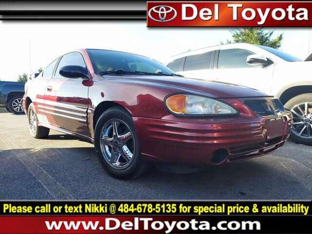 2002 Pontiac Grand Am SE1 Coupe