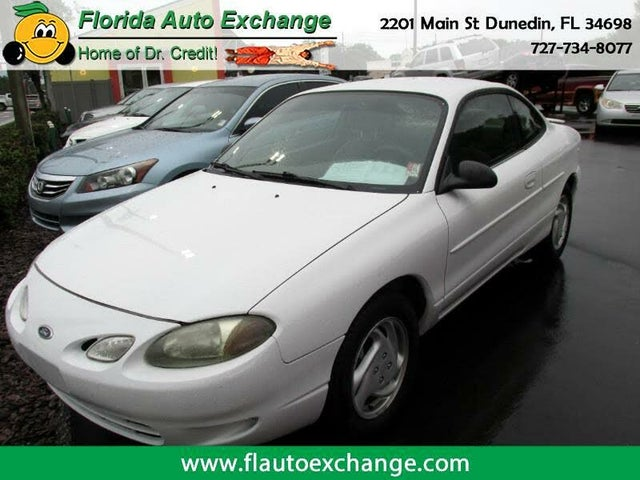 2001 Ford Escort 2 Dr ZX2 Coupe