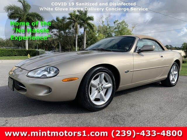 1999 Jaguar XK-Series XK8 Convertible RWD