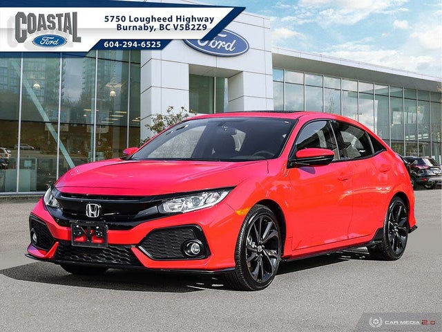 2018 Honda Civic Hatchback Sport FWD