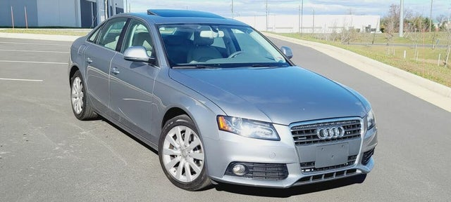 2009 Audi A4 2.0T quattro Premium Plus Sedan AWD