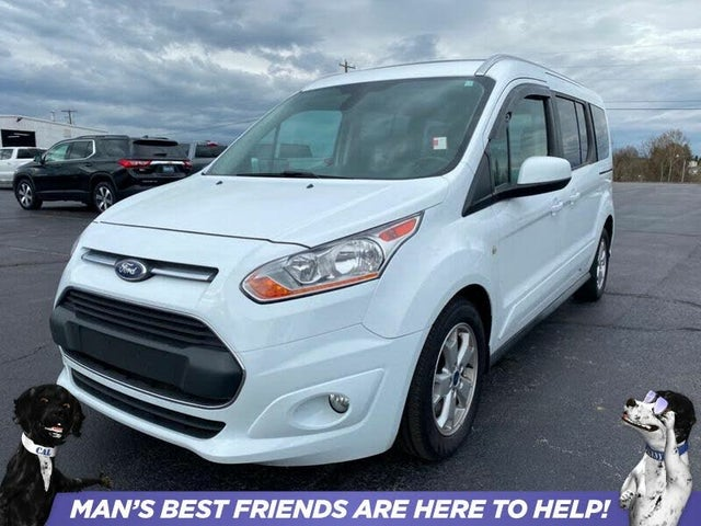2016 Ford Transit Connect Wagon Titanium LWB FWD with Rear Liftgate