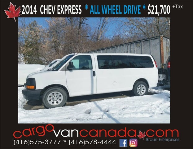2014 Chevrolet Express 1500 LS AWD