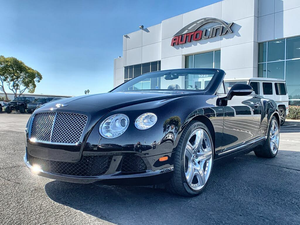 Used Bentley Continental Gtc For Sale Right Now Cargurus