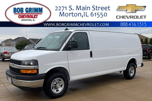 used 2021 chevrolet express cargo 3500 extended rwd for