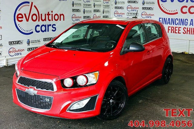 2016 Chevrolet Sonic RS Hatchback FWD