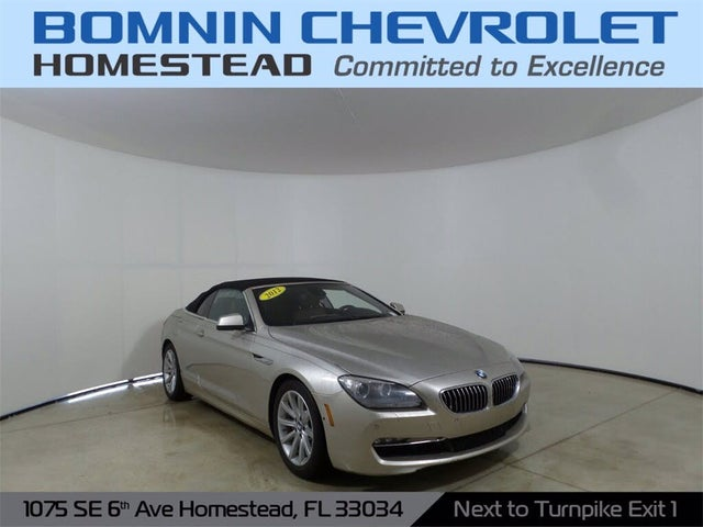 2012 BMW 6 Series 640i Convertible RWD
