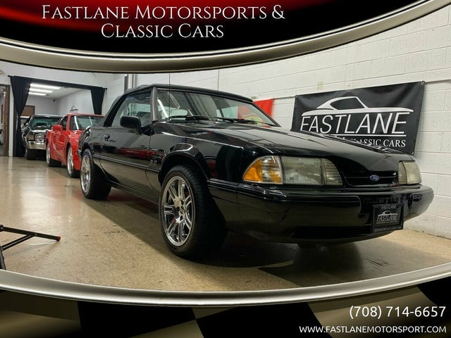 1989 Ford Mustang LX 5.0L Convertible RWD