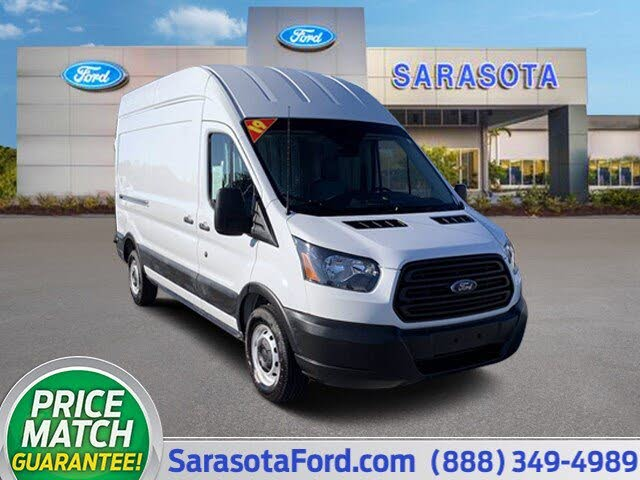 2019 Ford Transit Cargo 250 High Roof LWB RWD with Sliding Passenger-Side Door