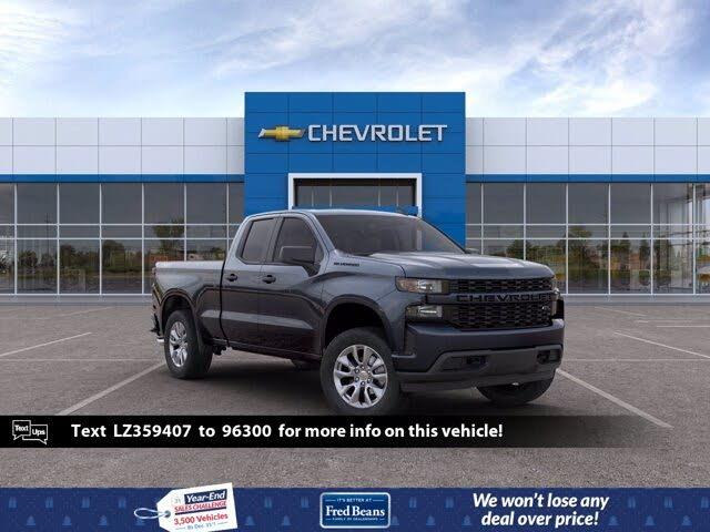 2020 Chevrolet Silverado 1500 Custom Double Cab 4WD