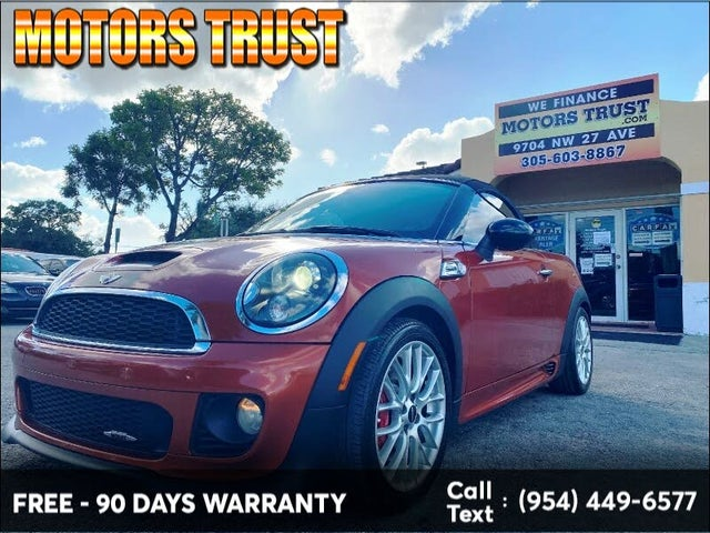 2013 MINI Roadster John Cooper Works FWD