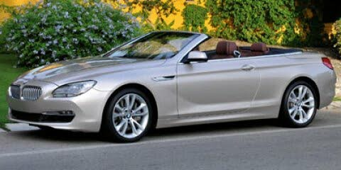 2012 BMW 6 Series 650i Convertible RWD