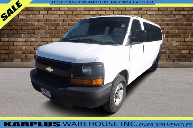 2015 Chevrolet Express 3500 1LS Extended RWD