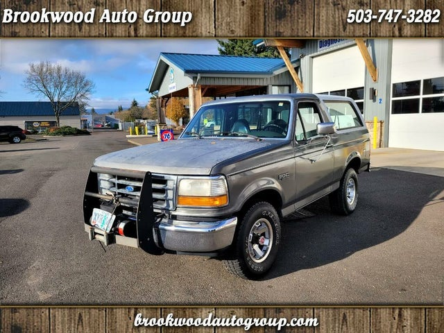 1992 Ford Bronco XLT 4WD
