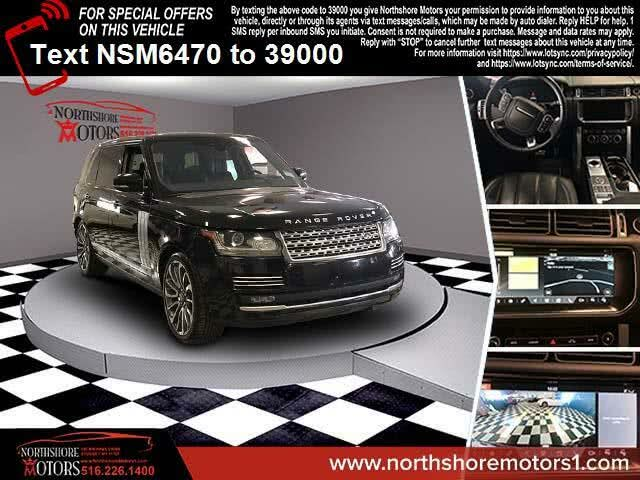 2017 Land Rover Range Rover V8 Autobiography LWB 4WD
