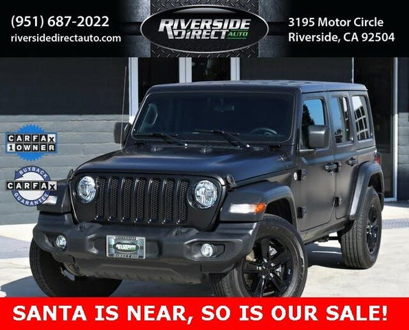 2019 Jeep Wrangler Unlimited Sport Altitude 4WD
