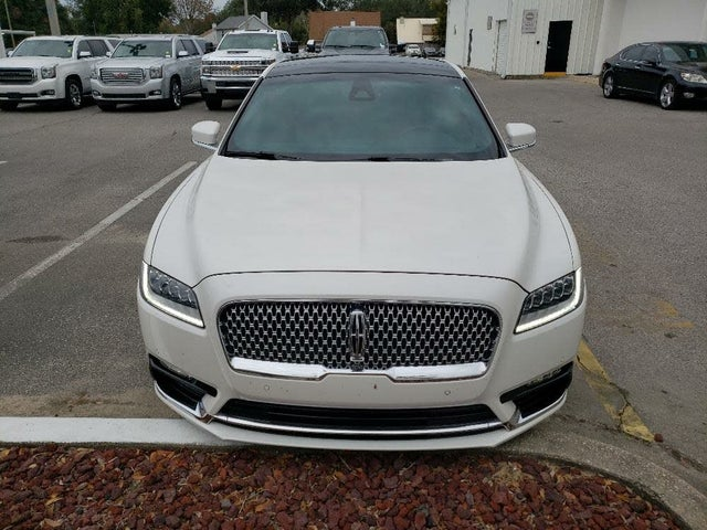 2017 Lincoln Continental Black Label FWD