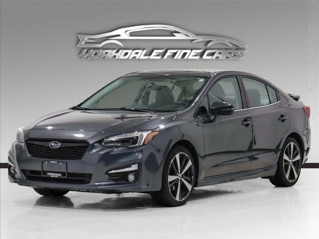 2018 Subaru Impreza Sport-Tech Sedan AWD with EyeSight Package